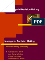 Decision Making Lecture 1