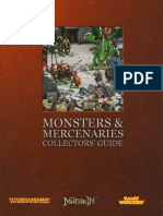 Warhammer FB - Monsters and Mercenaries Collectors Guide (2004)