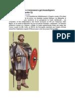 Les armées des royaumes germaniques