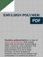 Emulsion Polymerization