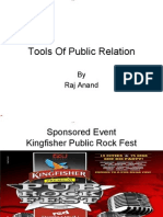 Public Relation Tools