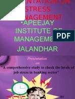 Presentation on Stress Mngmnt