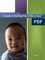 A Guide to Teaching Your Child to Read