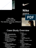 strategic management  NikeFINAL