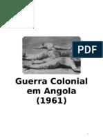 Guerra Colonial Em Angola (1961)