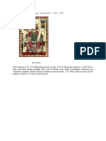 Minnelieder Von Kaiser Heinrich VI