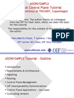 ASONGMPLS Optical Control Plane Tutorial (3)