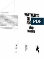 Vida y Muerte Del Chile Popular