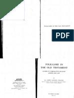 Frazer Folklore in the Old Testament Vol2 1919