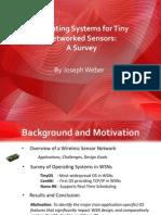 EE599-RTOS / SENSORS UKY Presentation