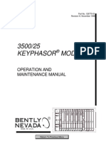 3500 25 Keyphasor Module 129770-01 Rev H