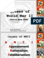 world war ii presentaion 2 - causes of wwii