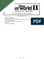 Ultima Underworld II-Manual