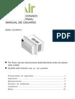 Manual de Usuario Ventana Bair 1 Ton