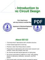 intro of Electronic Cct Design