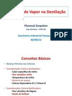 Consumo Vapor Destilacao Florenal Zarpelon Fz Consultoria