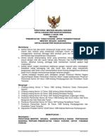 Peraturan Kepala Badan Pertanahan Nasional Nomor 3 Tahun 1998 tentang Pemanfaatan Tanah Kosong Untuk Tanaman Pangan