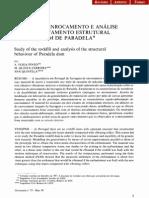 Estudo do enrocamento e análise do comportamento estrutural da Barragem de Paradela