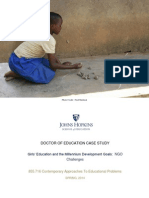 EdD Girls' Education Case Study