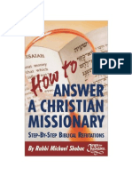 How to Answer a Christian Missionary