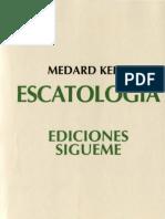kehl, medard - escatologia