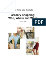 Tutorial on Cutting at Least 34 Minutes out of Every Week's Grocery Shopping!