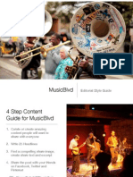 MusicBlvd Editorial Style Guide