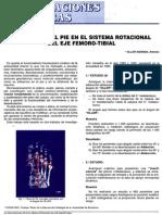 Biomecánica del eje femoro tibial