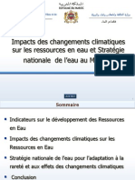 Eau Strategie Nationale