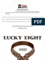 Lucky Eight Belt Book