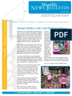 OHU Pickus CDC Newsletter Dec. 2013