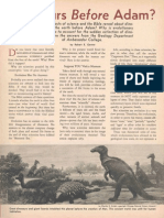 Dinosaurs Before Adam (PT 1963 Article)