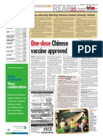 TheSun 2009-09-04 Page04 One-dose Chinese Vaccine Approved