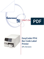 Intermec PF4i User Guide