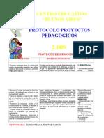 PROTOCOLO PROYECTOS PEDAGÓGICOS