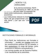 Douglass c. North y El Neoinstitucionalismo