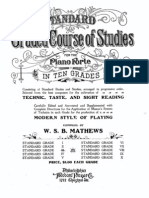 Standard Graded Course of Studies 3