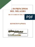 Los 50 Principios Del Milagro