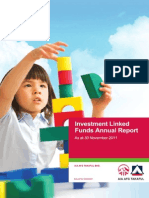 Investment Linked Funds Annual Report 2011