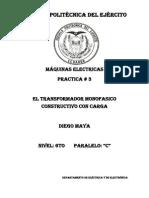 Tercer Informe Maquinas