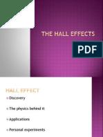 The Hall Effects Priya