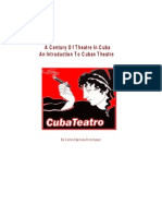 An Introduction to Cuban Theatre