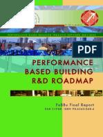 Performance Based Building R&D Roadmap