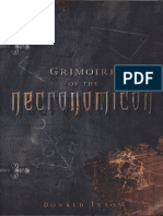 Donal Tyson - Grimoire of the Necronomicon