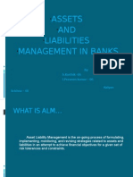 Assets and Liab Mgmt in Banks