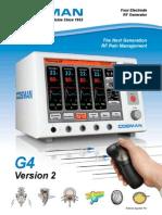 COSMAN G4 Four Electrode RF Generator