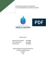 Psikologi Umum I (Sejarah Psikologi Di Indonesia)