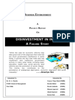 Disinvestment in India