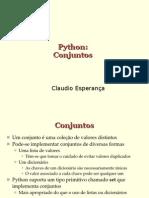 Programando Em Python - Conjuntos