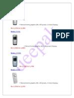 Nokia Mobilenoki Phones